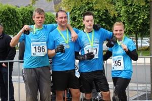 Laufsportteam der Assekuranz-Kuemper & Tischlerei HeMi, Versicherungsmakler, Versicherungen, Versicherung, Adventure Trail Run Sauerlandpark Hemer 2015
